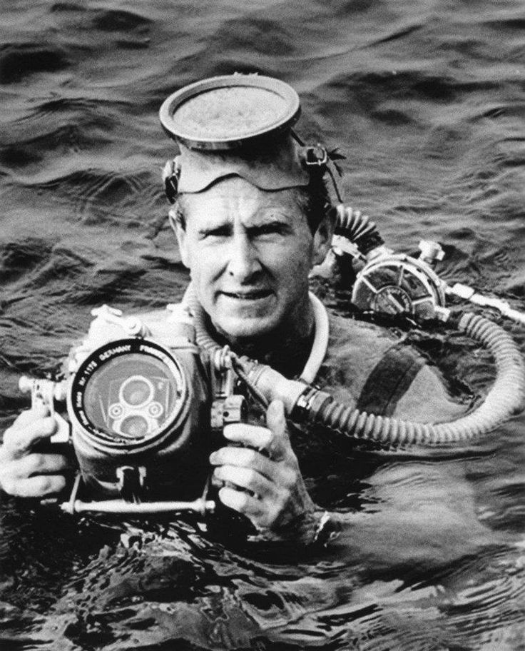 Lloyd Bridges with Rollei Marin