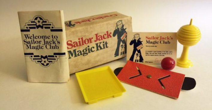 Cracker Jack Magic Set FIXED