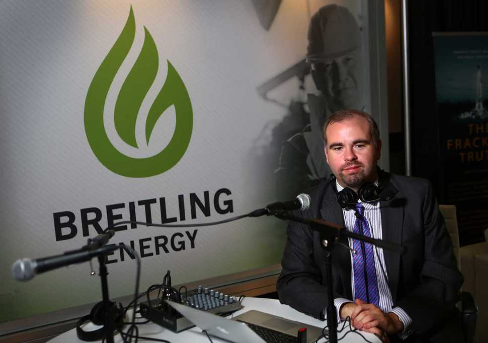 Chris Faulkner. CEO of Breitling Energy, hosted a daily radio show, 'Powering America.'