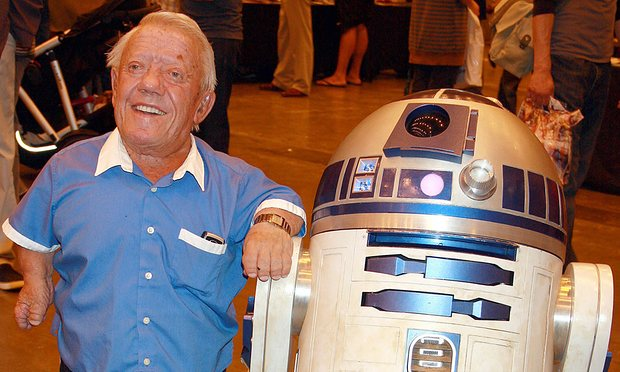 Kenny Baker starred in the first six Star Wars films, from 1977 to 2005. Photograph: Rory Gilder/Rex Shutterstock