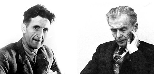 george orwell and aldous huxley a In george orwell's 1984 other dystopian novels include aldous huxley's brave new world, ray bradbury's fahrenheit 451, and orwell's own animal farm.