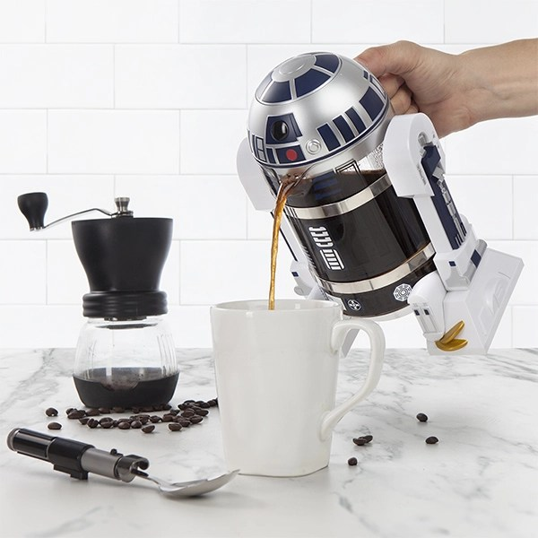 R2-D2 French press pot