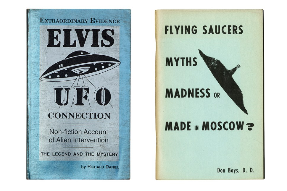 Flying Saucers are Real! Anthology of the lost saucer-craze / Boing