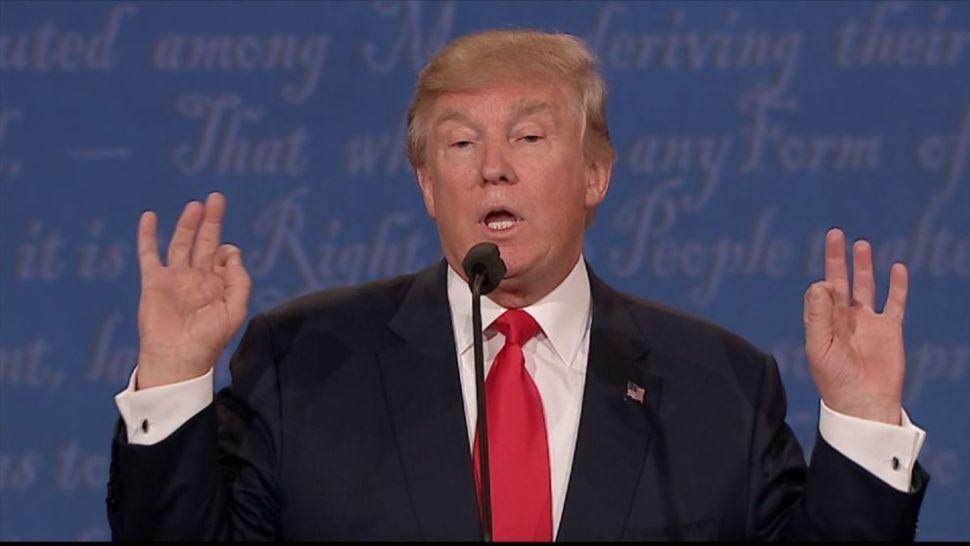 Trump at 10/19 debate