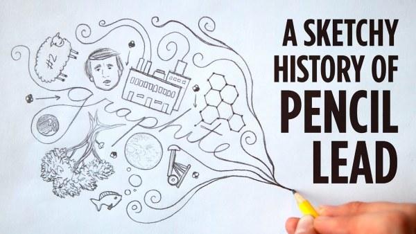 A Brief History Of Pencil Lead