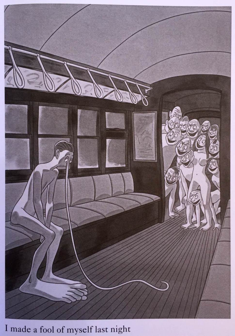 Gag Cartoons with Naked People: Abner Deans What Am I
