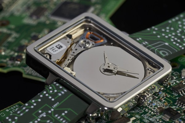 "Watches made from obsolete 1"" mechanical hard drives"