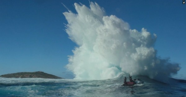 Awe-inspiring footage from making of a surfing book