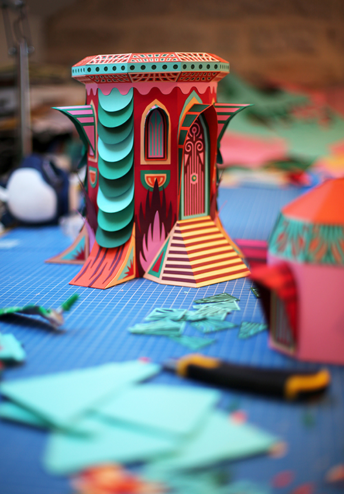 Enchanting and whimsical papercraft buildings / Boing Boing