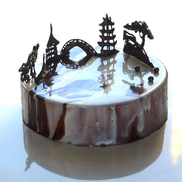 Mirror Glaze Cake San Francisco