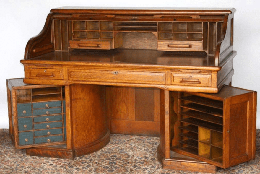 Before Filing Cabinets We Had The Coolest Desks Boing Boing