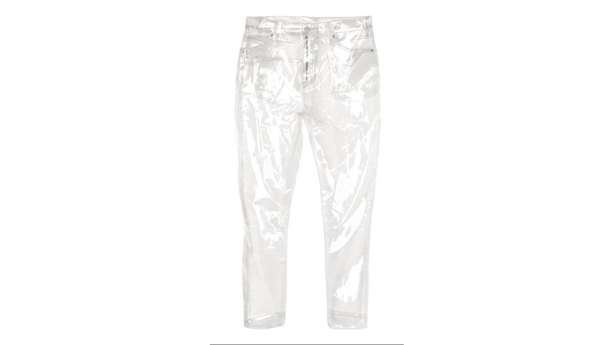 clear plastic jeans    boing boing