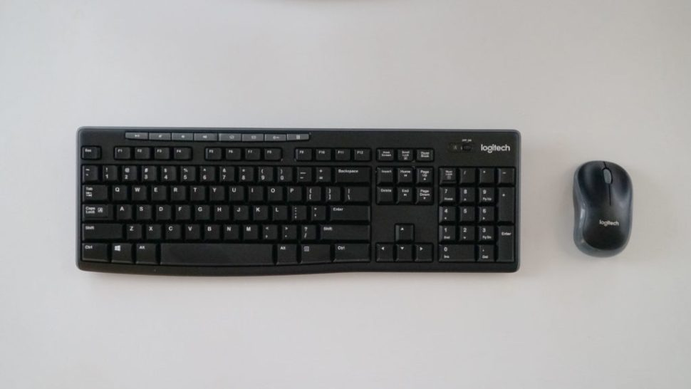 Review Logitech Mk270 The Cheapest Ass Wireless Keyboard And Mouse