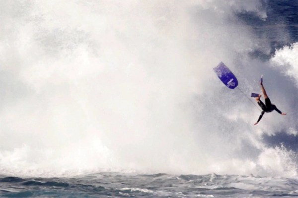 Watch a freak wave launch a body boarder 20 feet into the air