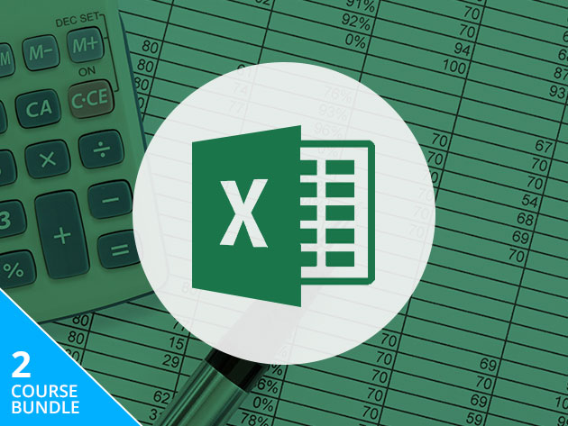 This bundle will make you your office's Excel guru