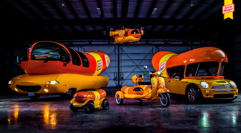 Oscar Mayer adds a drone to their fleet