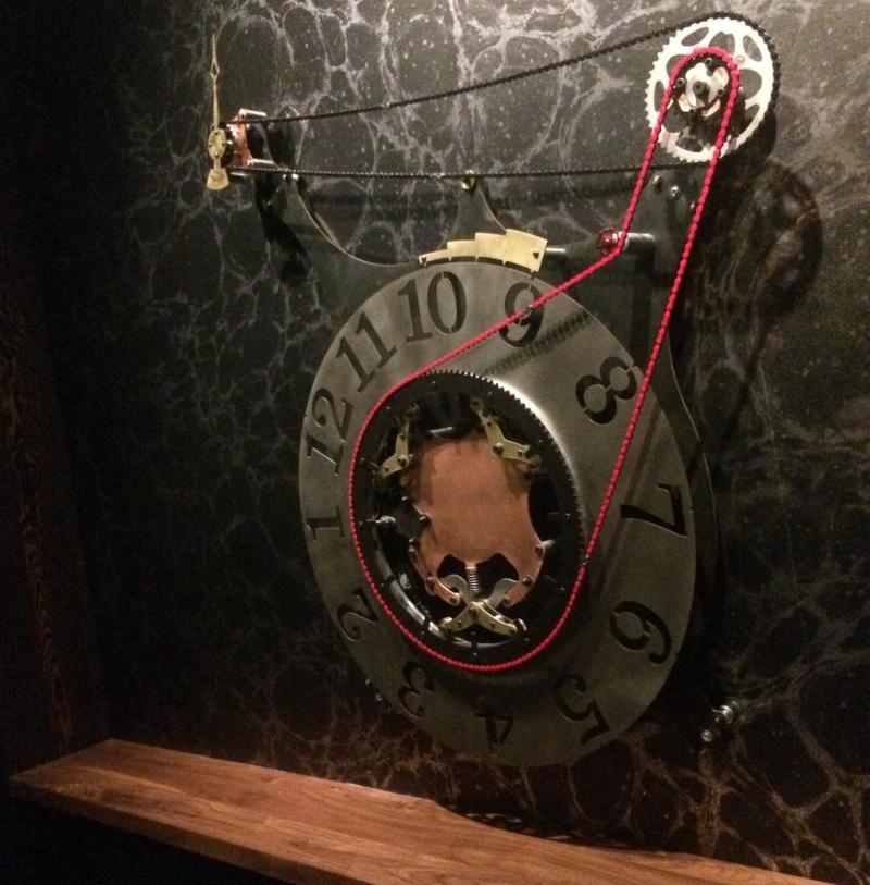 Steampunk Arduino Powered Electro Mechanical Clock