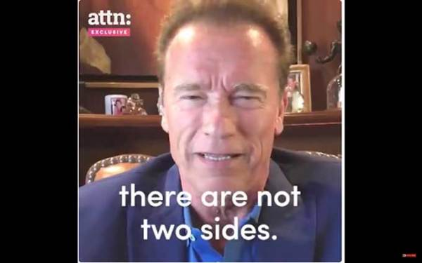 Arnold Schwarzenegger to white supremacists: your heroes are losers
