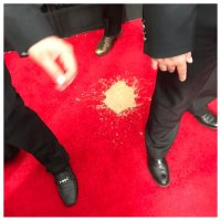 Vomit on the red carpet at the Emmy Awards / Boing Boing