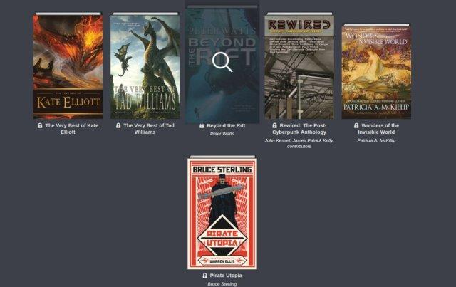 Humble Science Fiction and Fantasy Book Bundle: more than 20 DRM-free ebooks, Vandermeer, Bruce Sterling, Peter Beagle, Joe Lansdale, Alistair Reynolds, Nancy Kress and more!