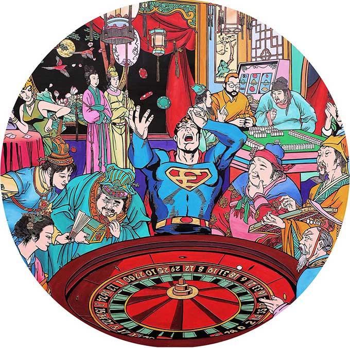 Superman roulette