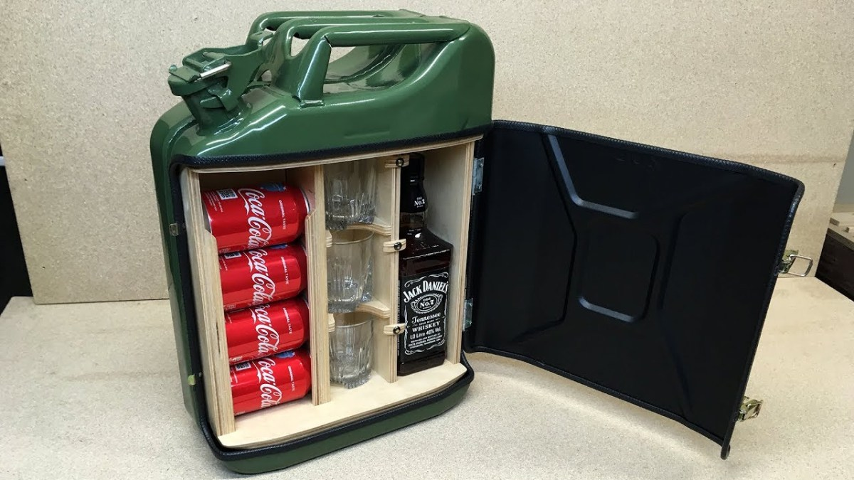 Make A Jerry Can Travel Bar Boing Boing