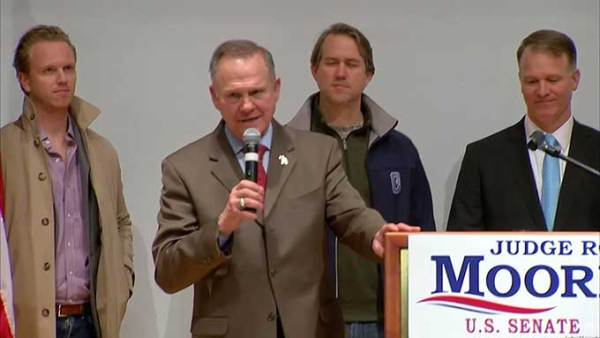 Loser Roy Moore refuses to concede