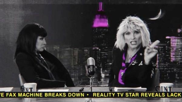 Joan Jett in new Blondie video