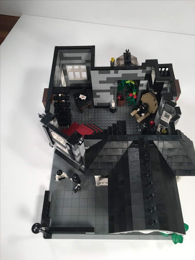 help make this addams family lego mansion an official set / boing boing