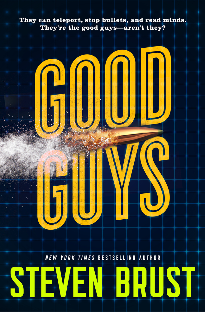 """Steven Brust's """"Good Guys,"""" a hardboiled noir urban fantasy, with everything great about Brust on proud display / Boing Boing"""