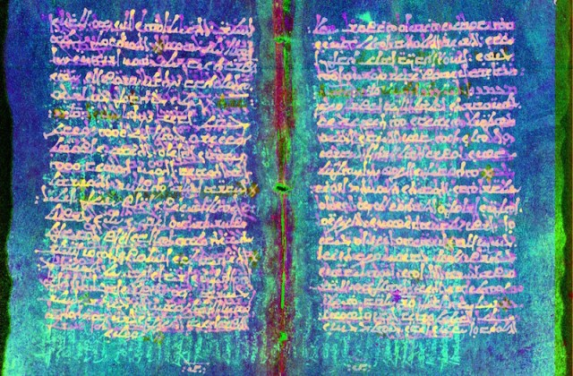 Particle accelerator reveals ancient medical manuscript replaced with religious text
