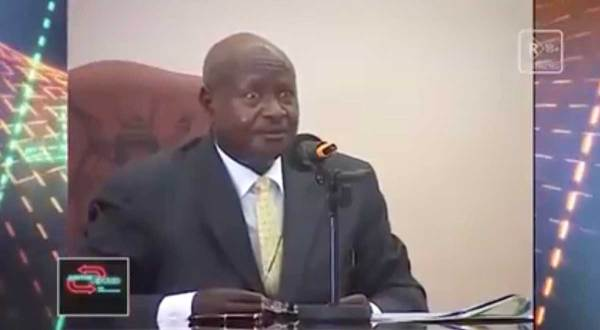"""Ugandan president wants to outlaw sex because """"the mouth is for eating"""""""