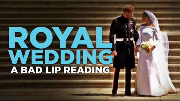 Watch: A Bad Lip Reading of the Royal Wedding