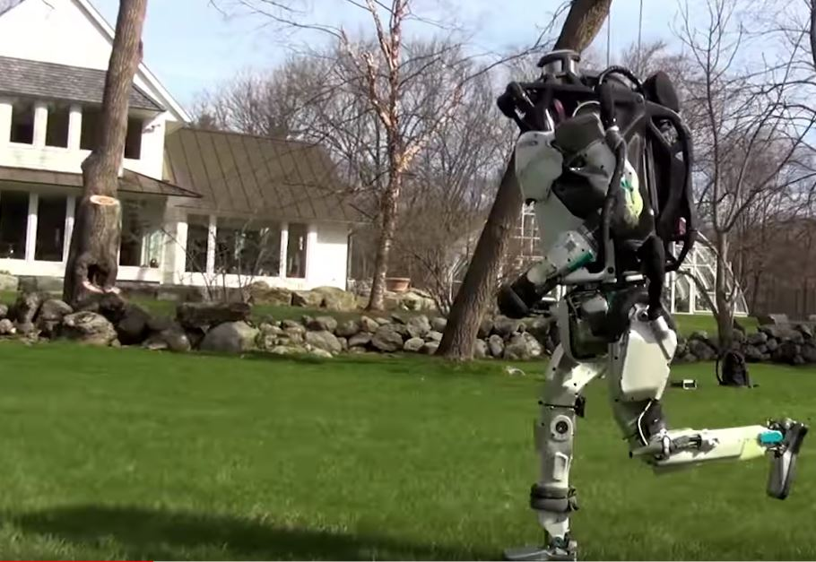The Boston Dynamics bipedal robot can run now