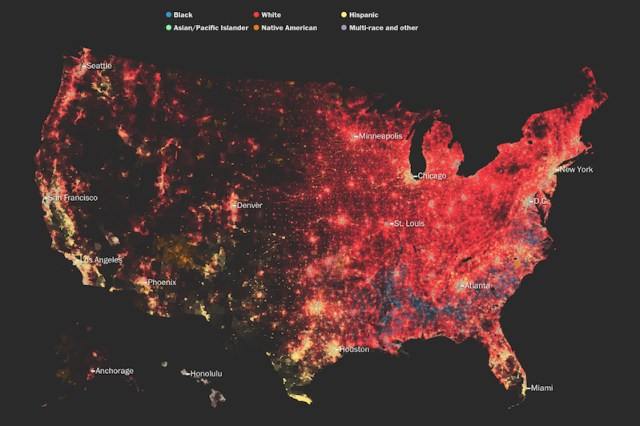 New maps of America show race and diversity levels