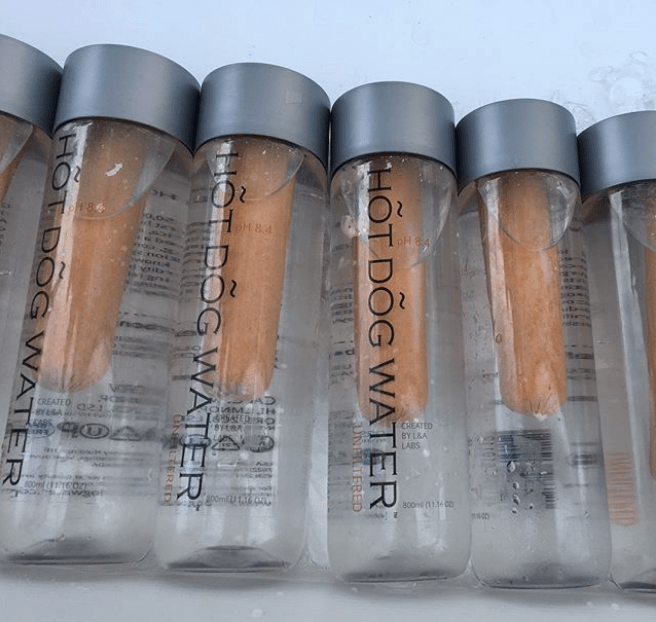 Would You Buy A 28 Bottle Of Quot Unfiltered Hot Dog Water
