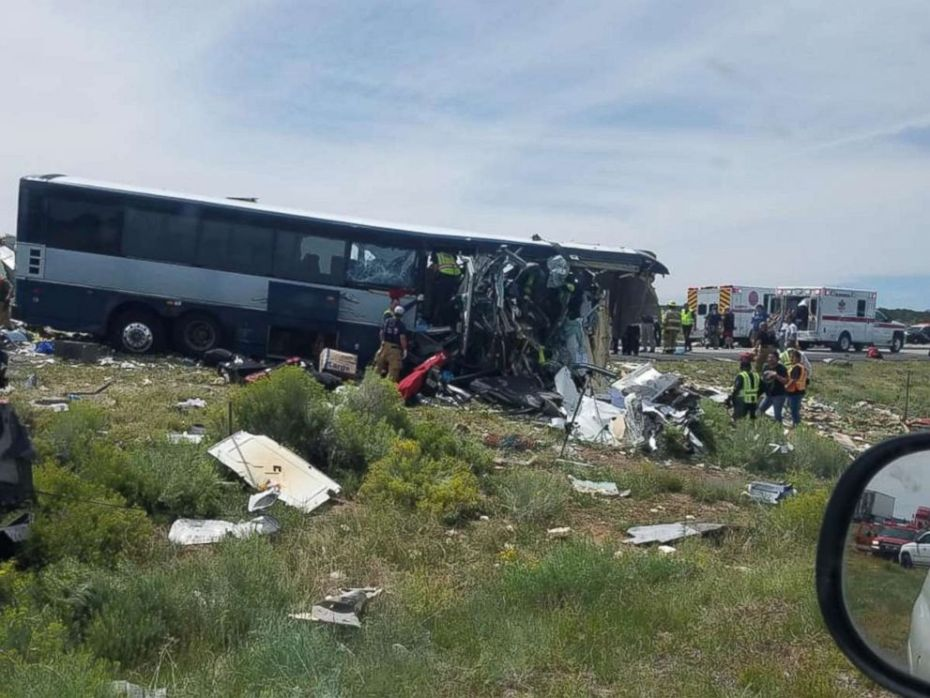 New Mexico Greyhound Bus Crash: Multiple deaths, serious