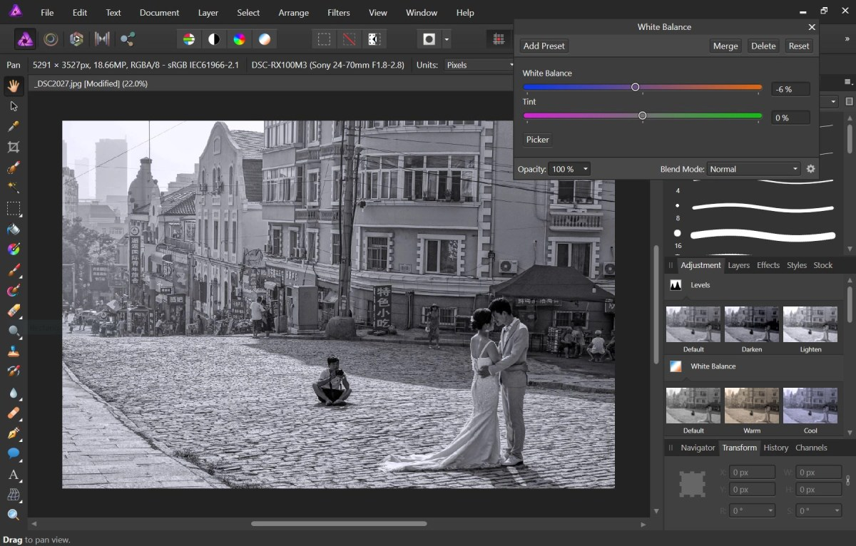 Affinity Photo is an awesome low cost Photoshop alternative
