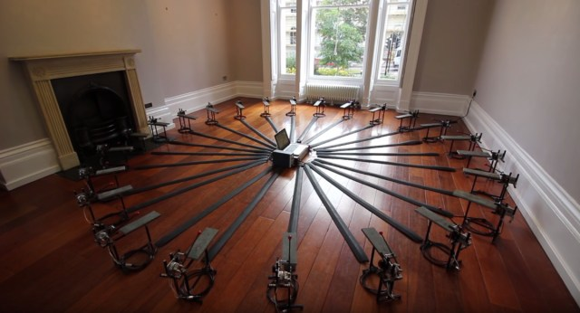 Listen to this funky electromechanical lithophone