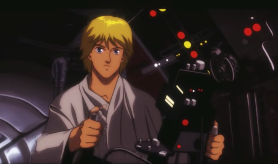 Do Not Miss This Anime Trailer For Star Wars Episode Iv A New Hope Boing Boing