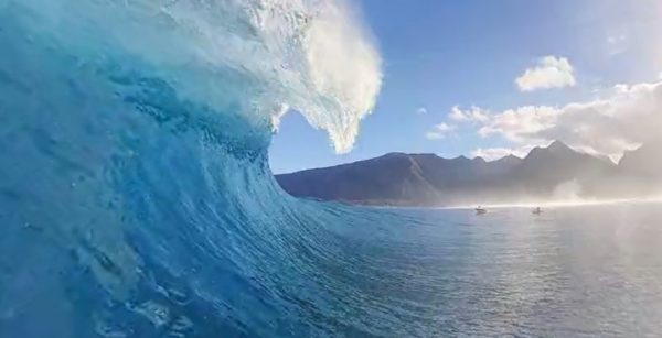 Relax with this gorgeous 360 VR surfing video