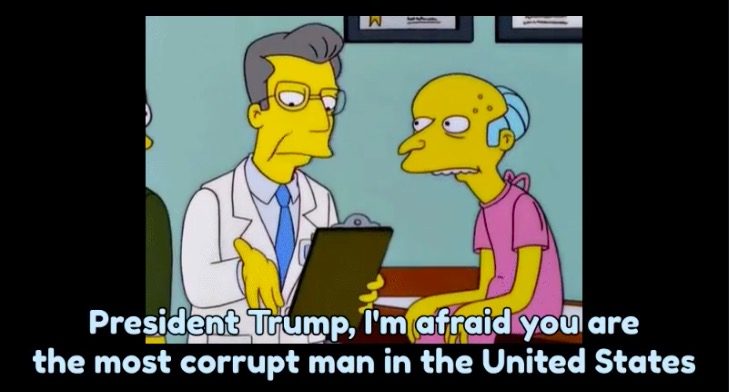 'How Scandal Fatigue Works In The Time of Trump,' explained by The Simpsons