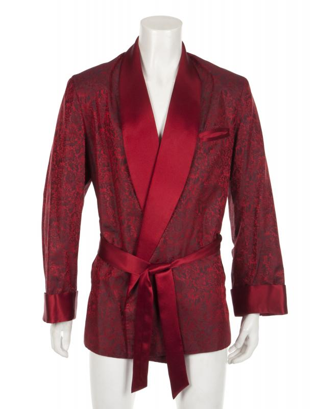 Hugh Hefner's smoking jacket up for auction
