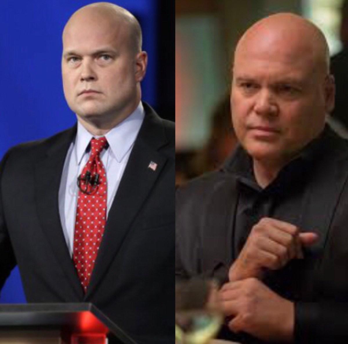 Matt Whitaker and Daredevil's Kingpin, separated at birth?