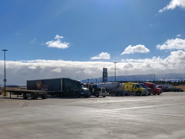 My life on the road: stranded in Wyoming
