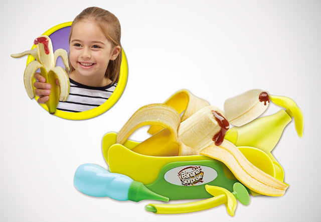 Possibly NSFW: A gadget that injects bananas with syrup
