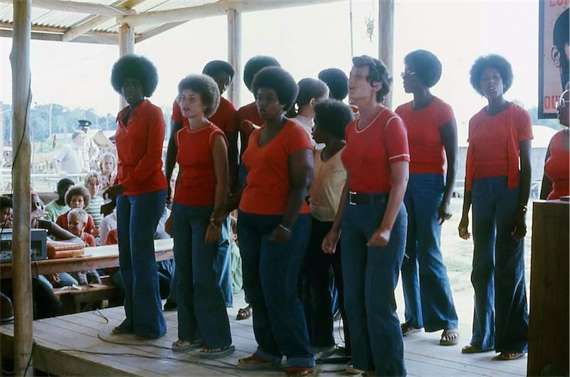 Jim Jones and the Peoples Temple released a pre-Jonestown gospel album