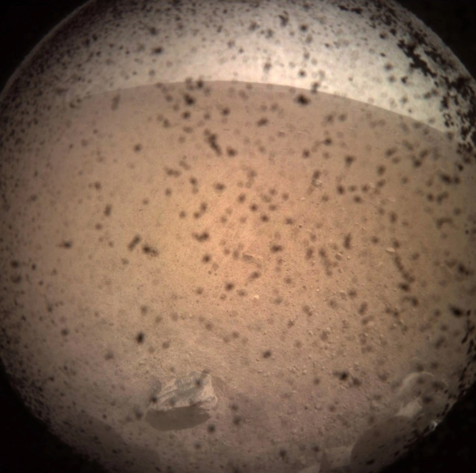 NASA InSight robot lander's amazing first images from Mars