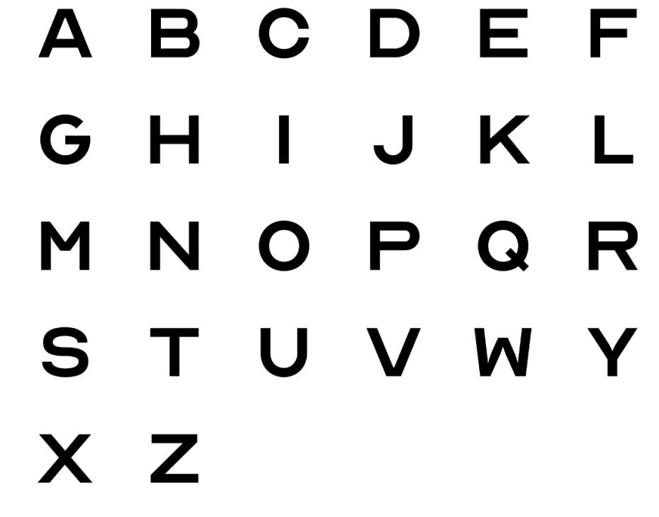 Optician Sans: a font based on eye-charts / Boing Boing