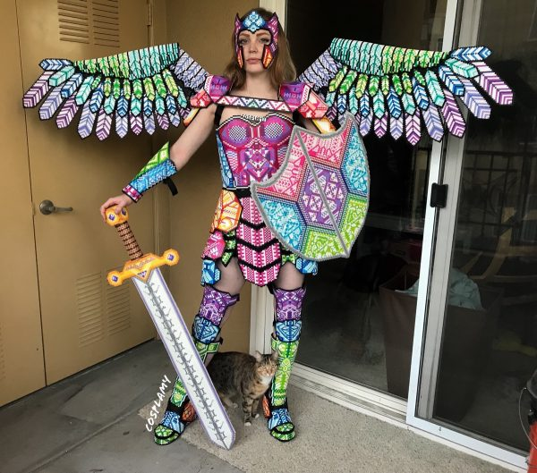 The Art of Cosplay: 'Fuse Bead Armor,' by Cosplay Amy (@cosplamy)